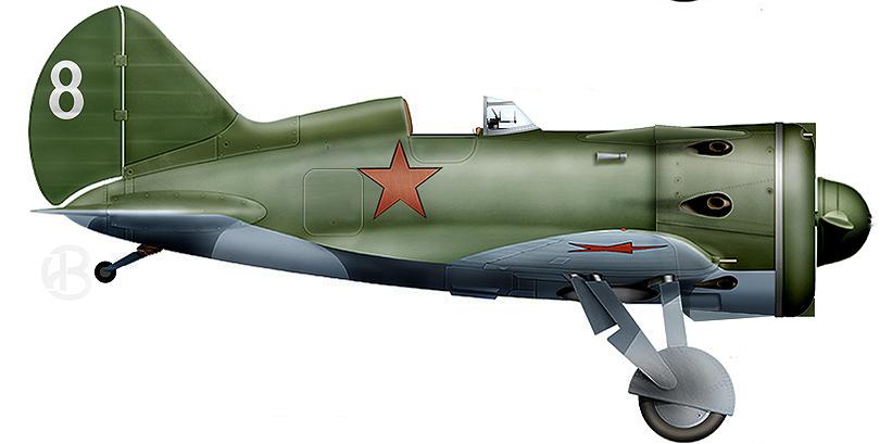 И-153 № 2 из 123 ИАП 10 САД