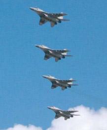МиГ-29БМ на воздушном параде